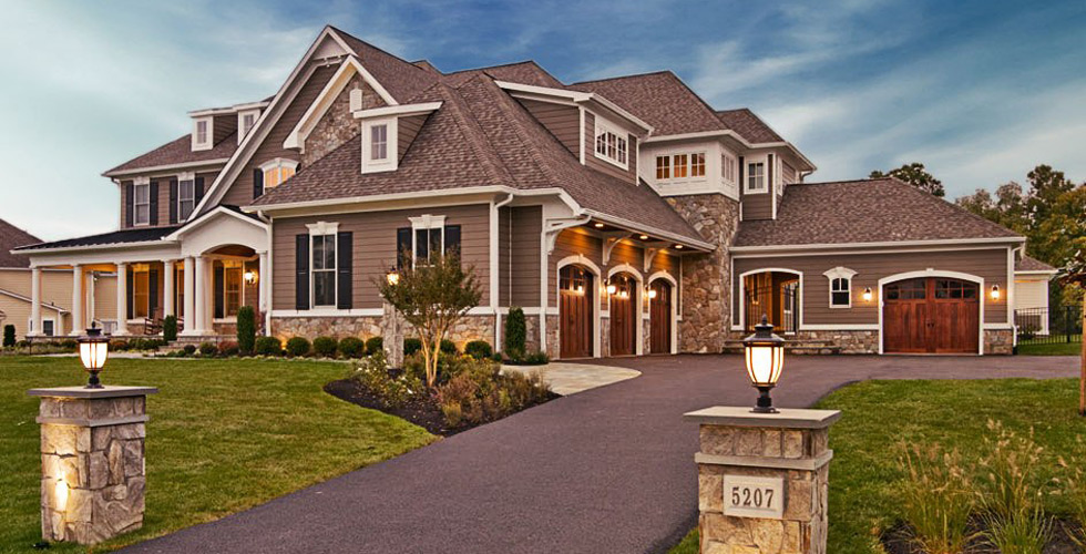 Architectural services custom home designs stevens for Unique house plans